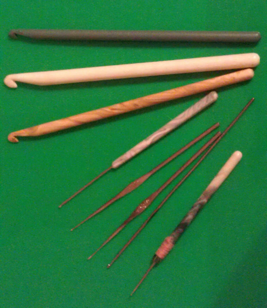 Сделать крючки для вязания 117