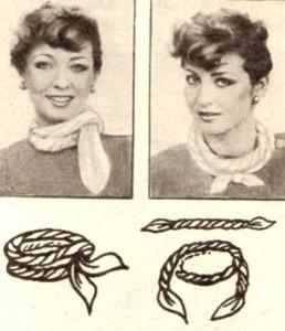 Как завязать платок вар.2