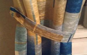 Полоса для фиксации шторы