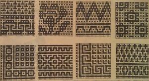 Схемы орнаментов