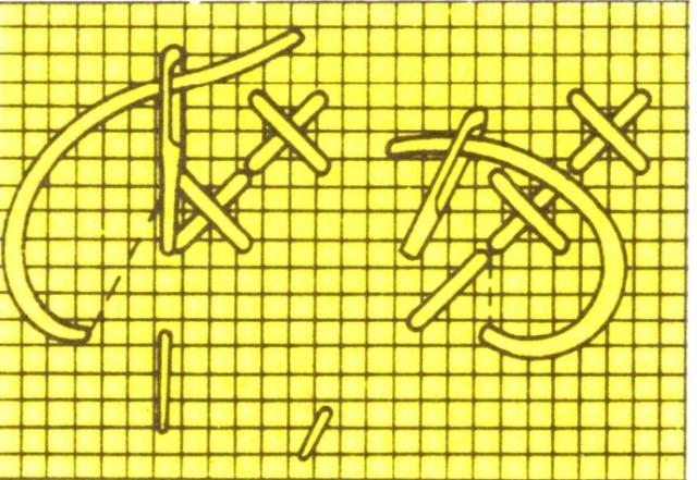 Основные при мы вышивки крестом
