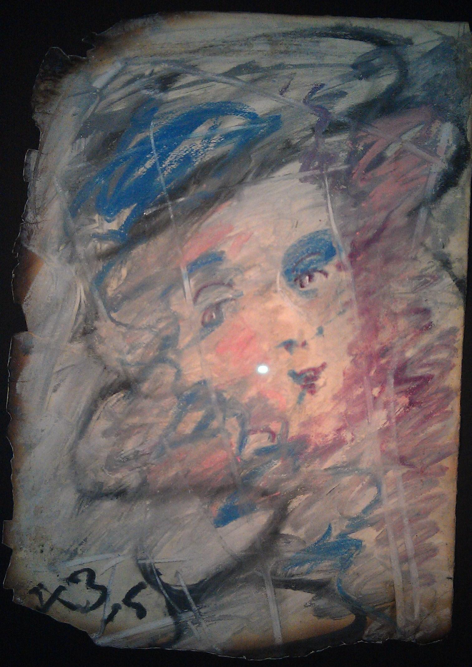 Зверев Женский портрет