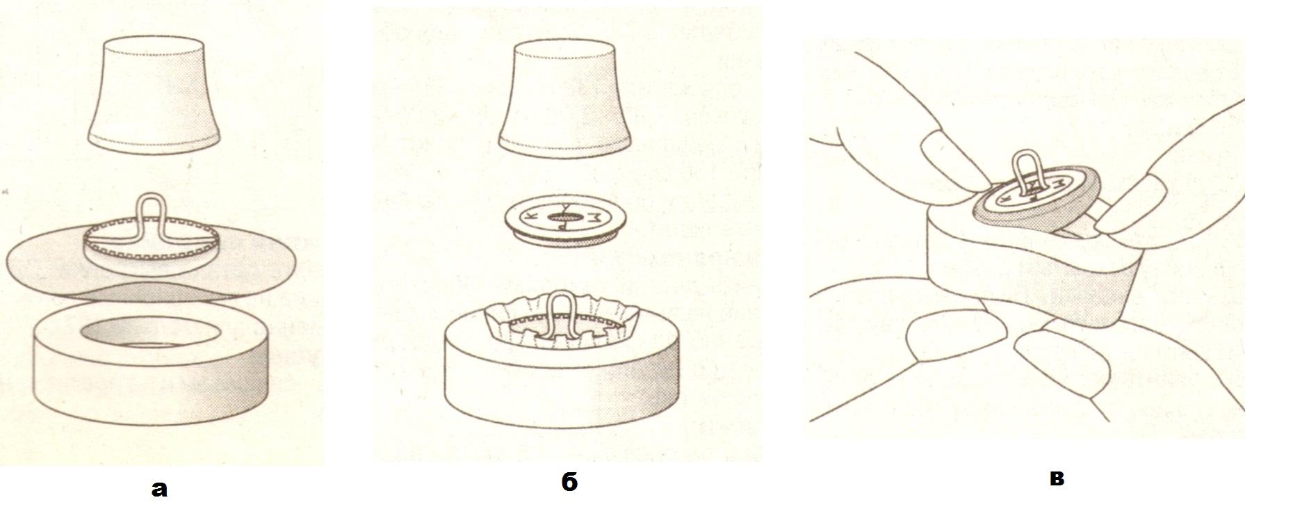 Как обтянуть пуговицы своими руками
