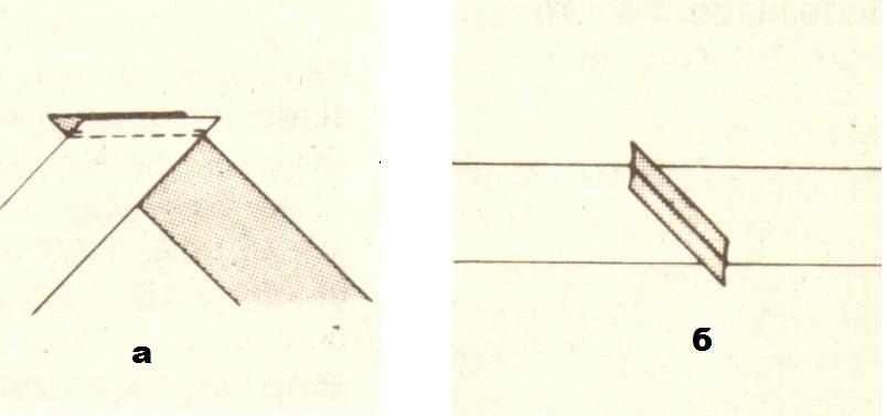 Как сшить косую бейку