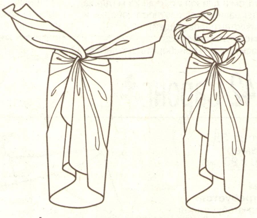Как носить саронг