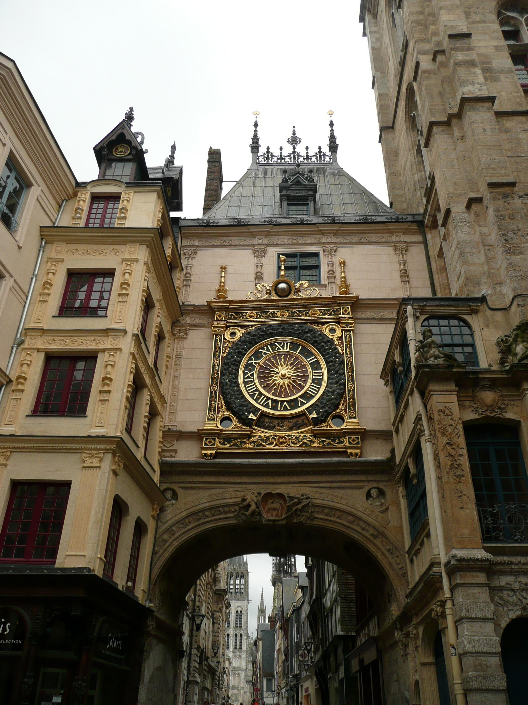 Руан. Большие часы