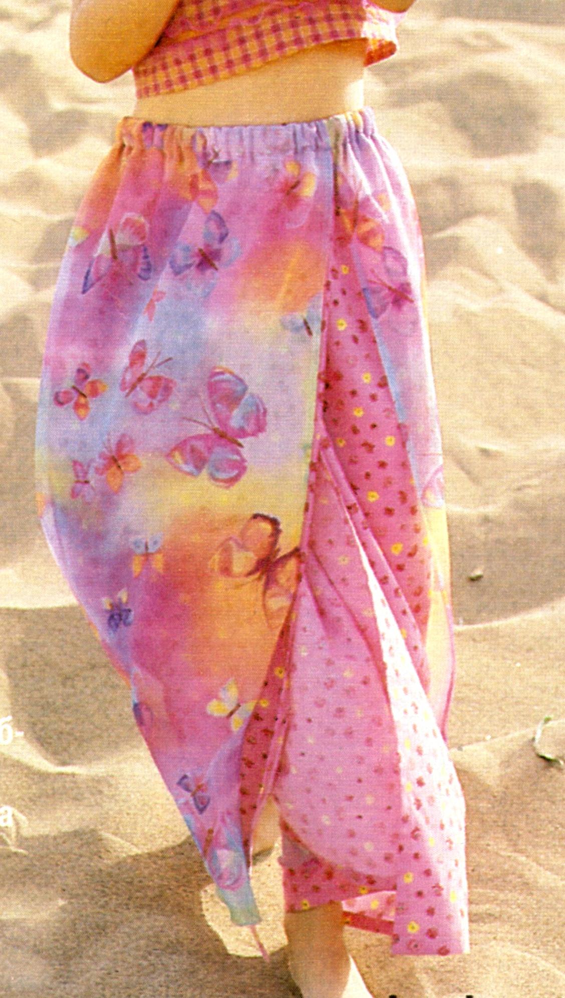 Летняя юбка для девочки