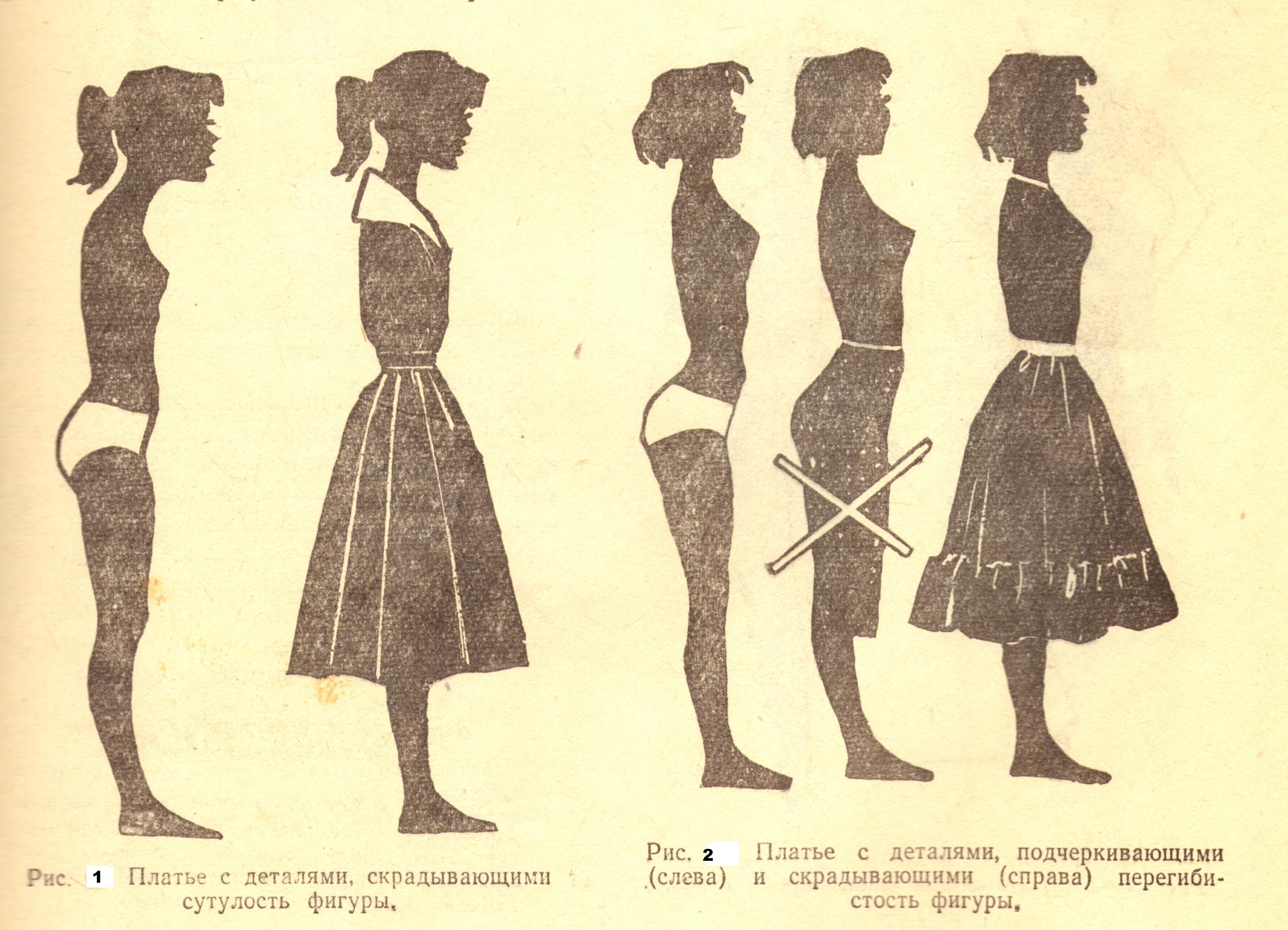 Сутулая и перегибистая фигура (1-2)