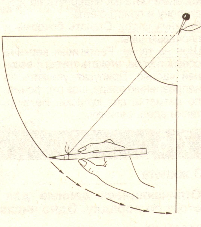 Как сделать чертеж юбки колокол