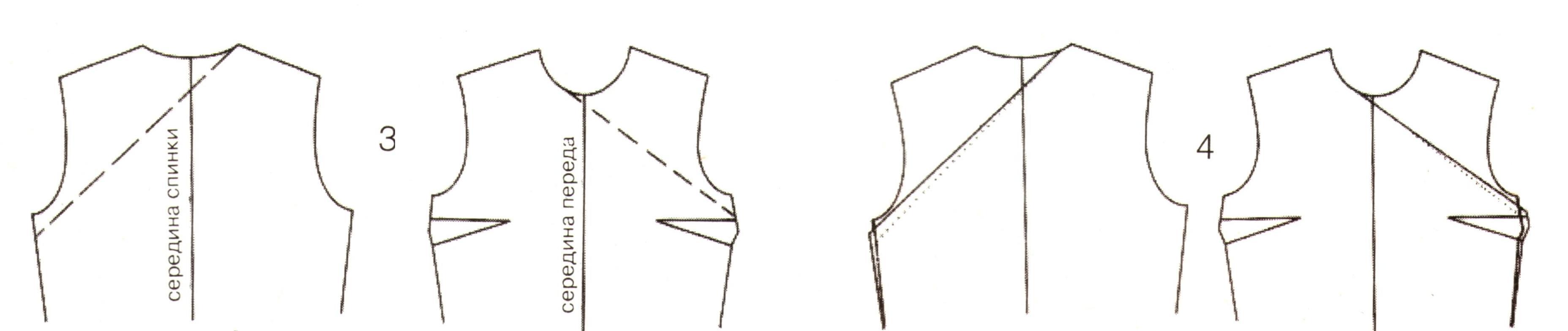 Корректировка выкройки (3-4)