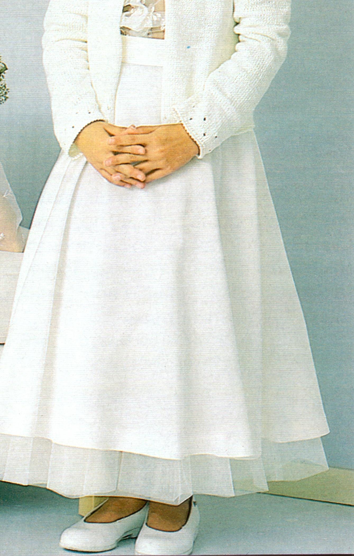 Нарядная юбка полусолнце для девочки