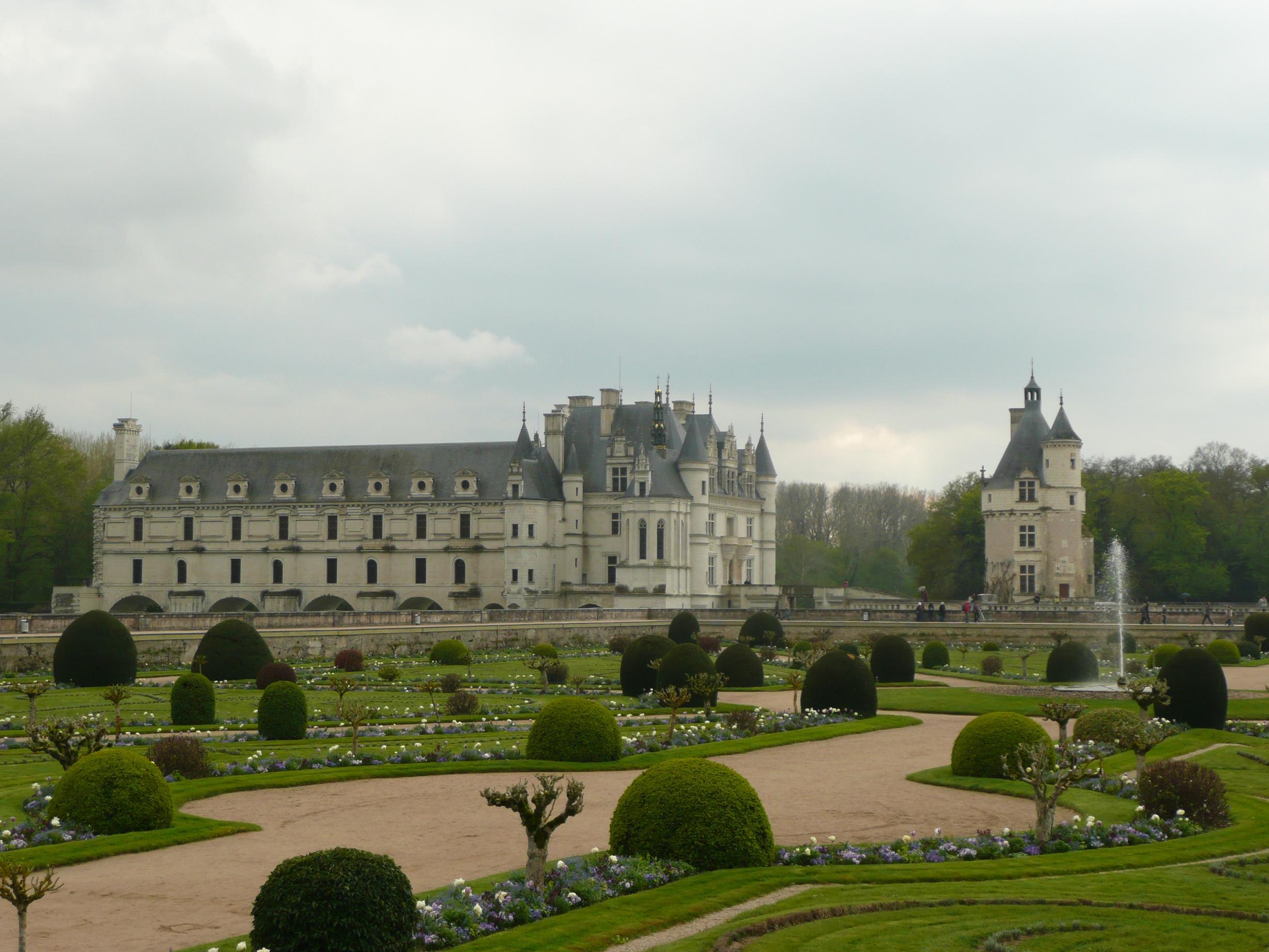 Шенонсо. Дворец и парк.