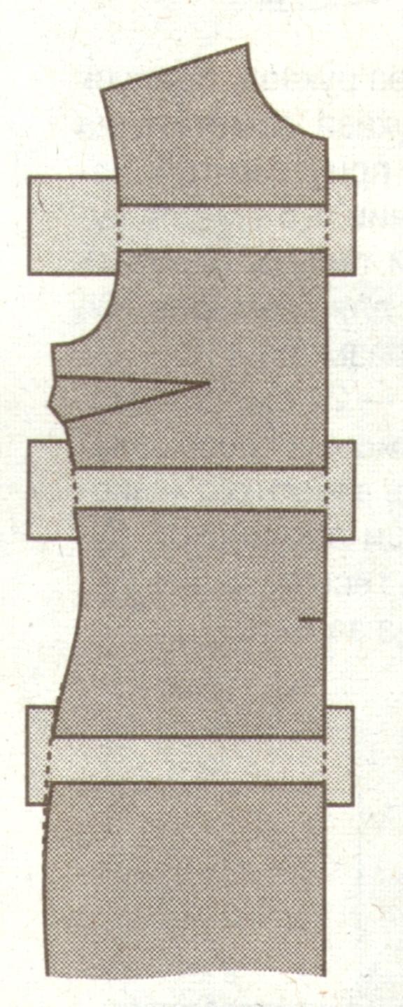 Удлинение выкройки