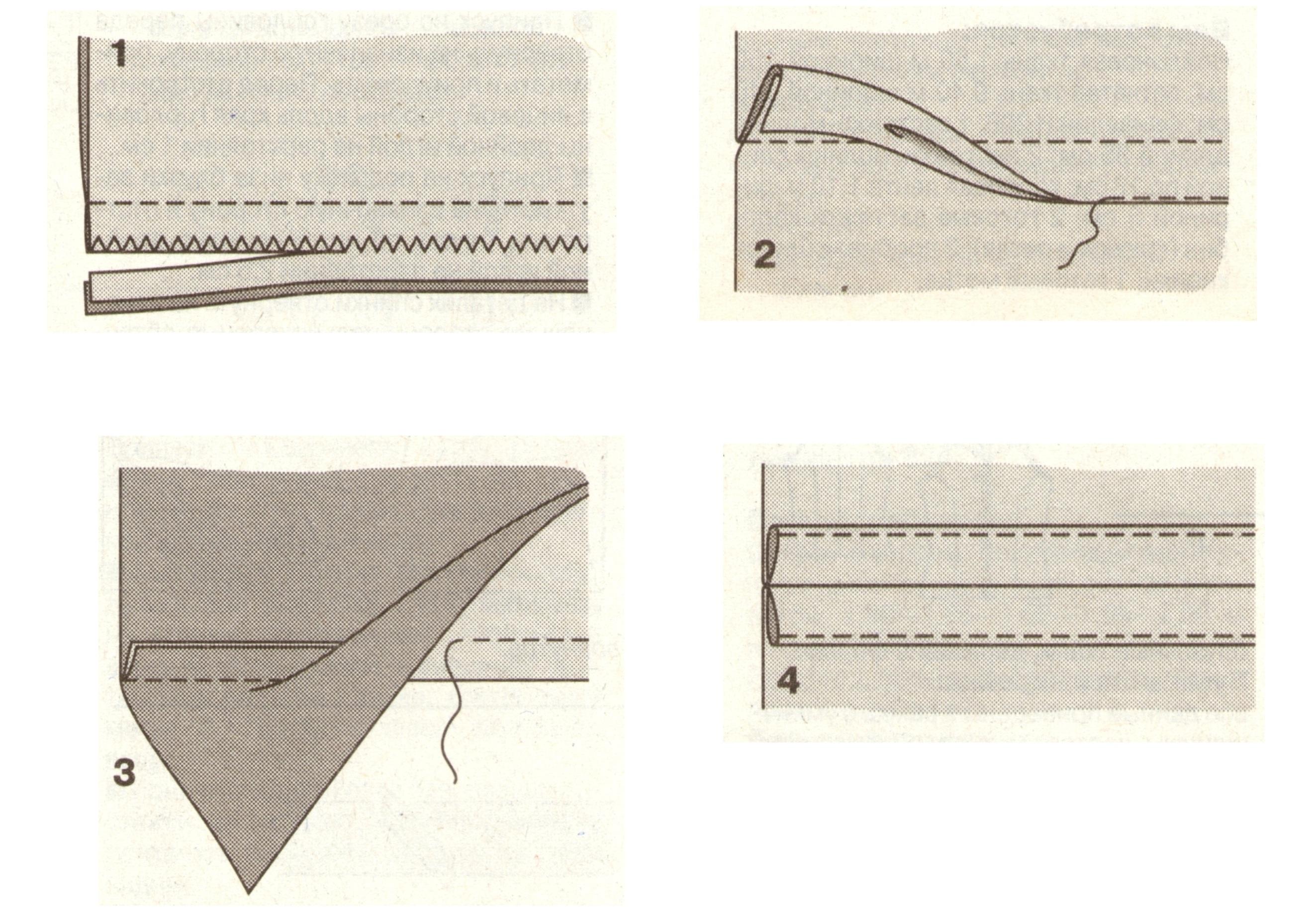 Как обработать припуски швов без оверлока - мастер-класс Корфиати 76