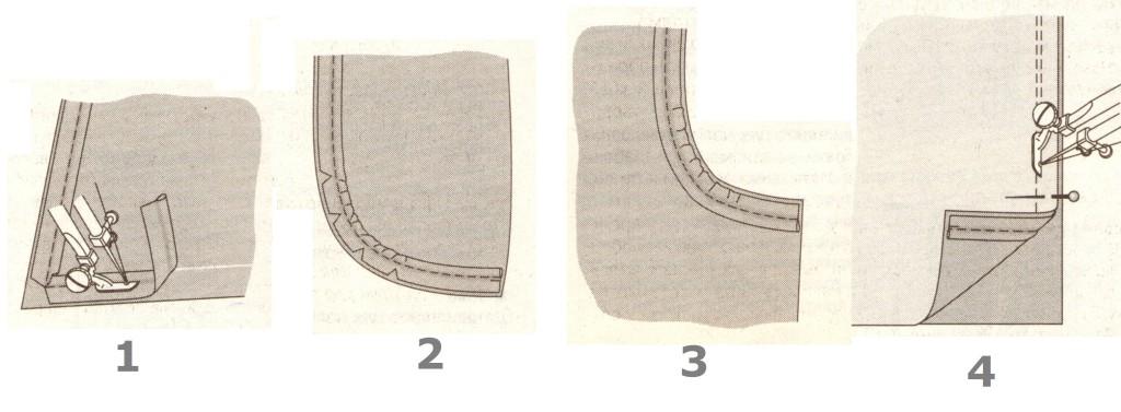 Декоративный кант (1-4)