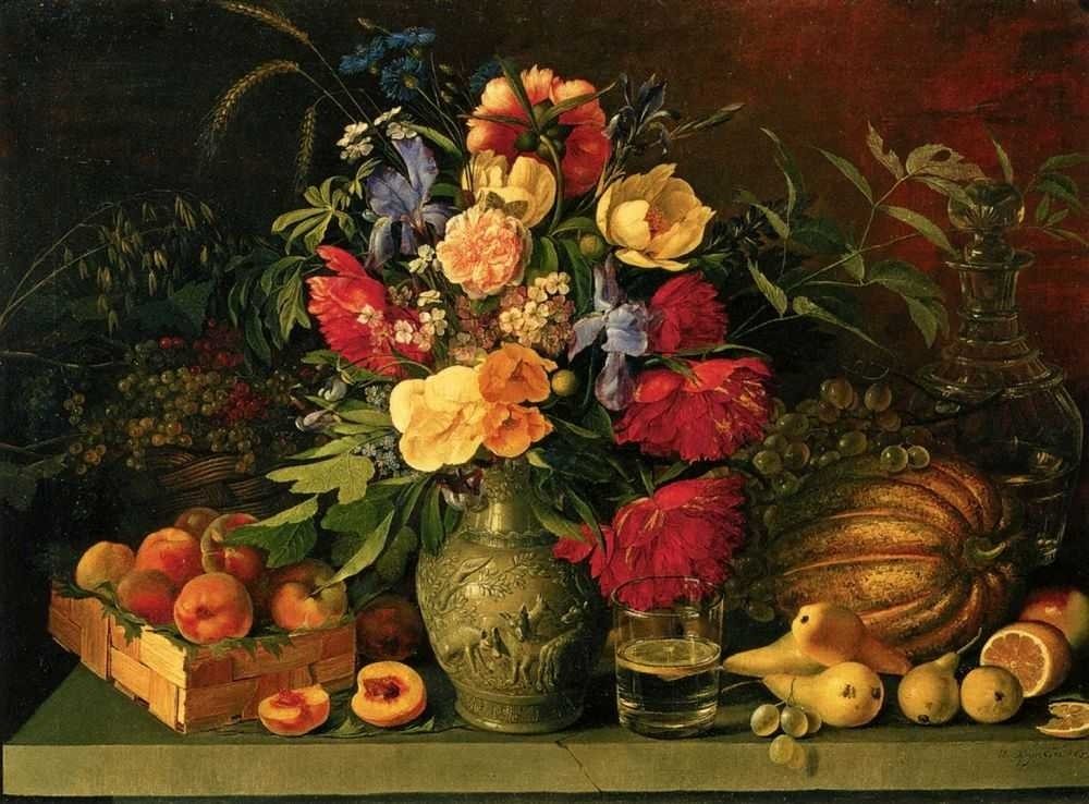 Цветы и плоды Хруцкий ИФ