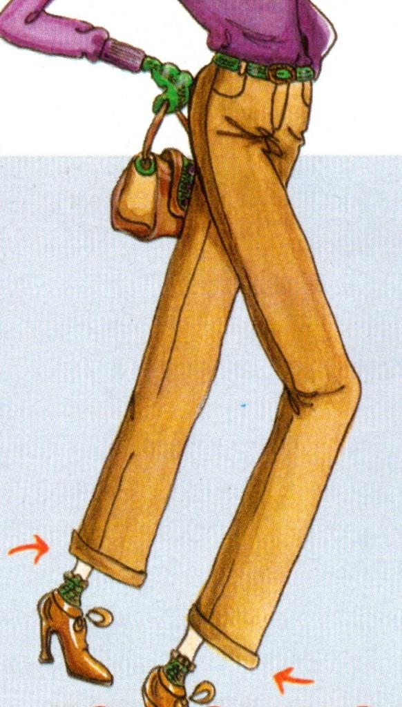 Длинные ноги