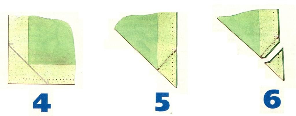 Обработка шлицы рукава 4-6
