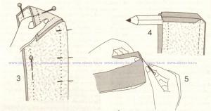 Воротник со стойкой (3-5)