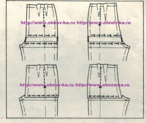 Корректировка выкройки брюк 3