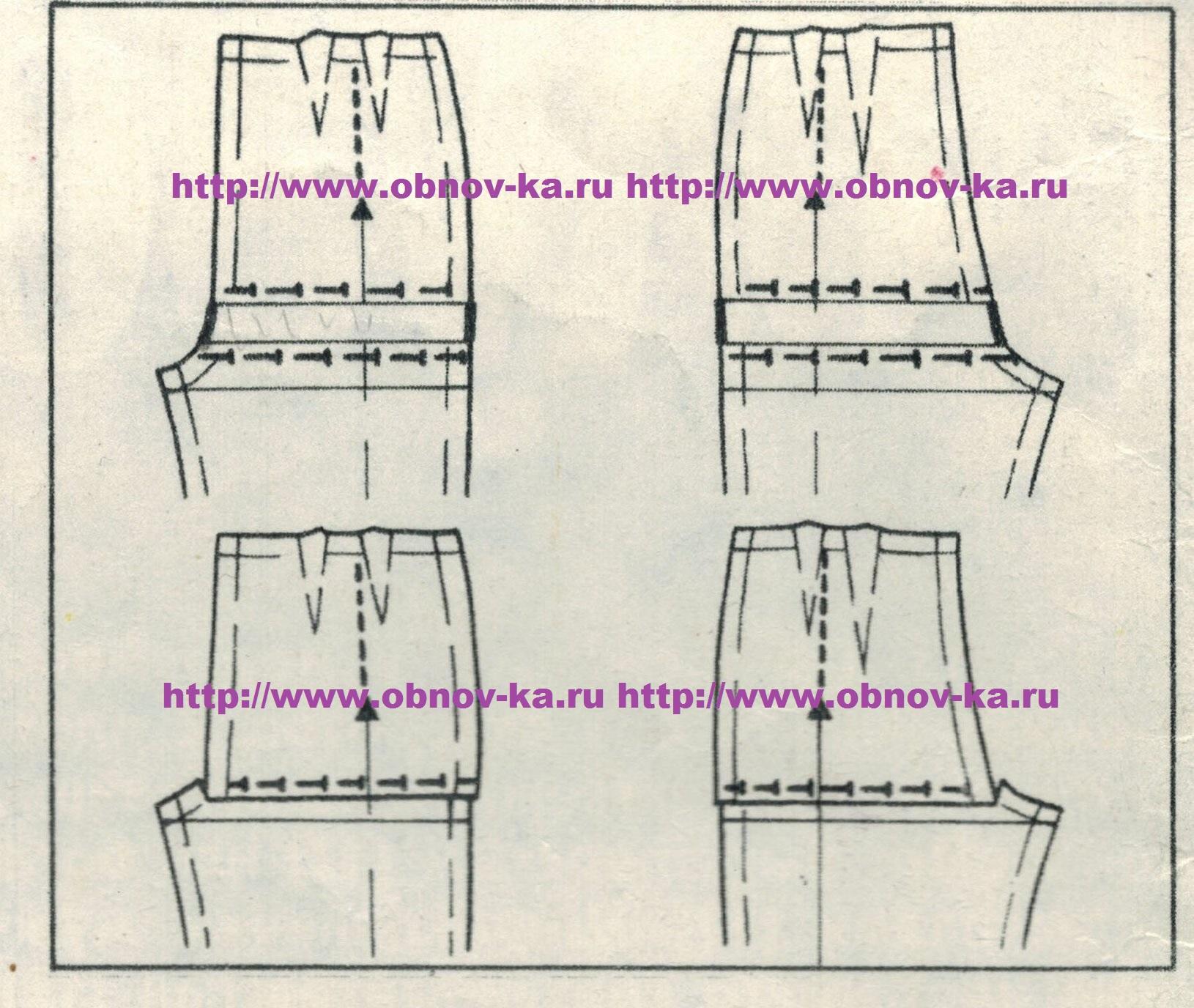 Высота сидения выкройка