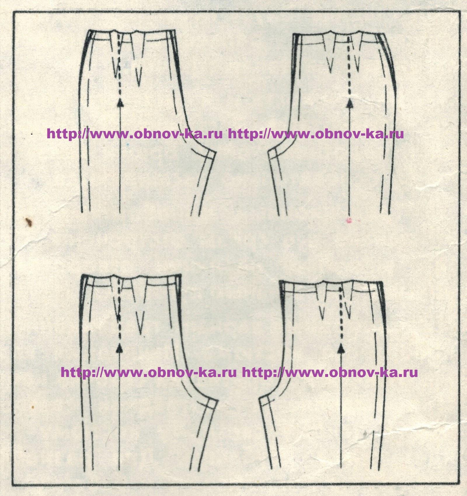 Как сделать джинсы на один размер меньше 15
