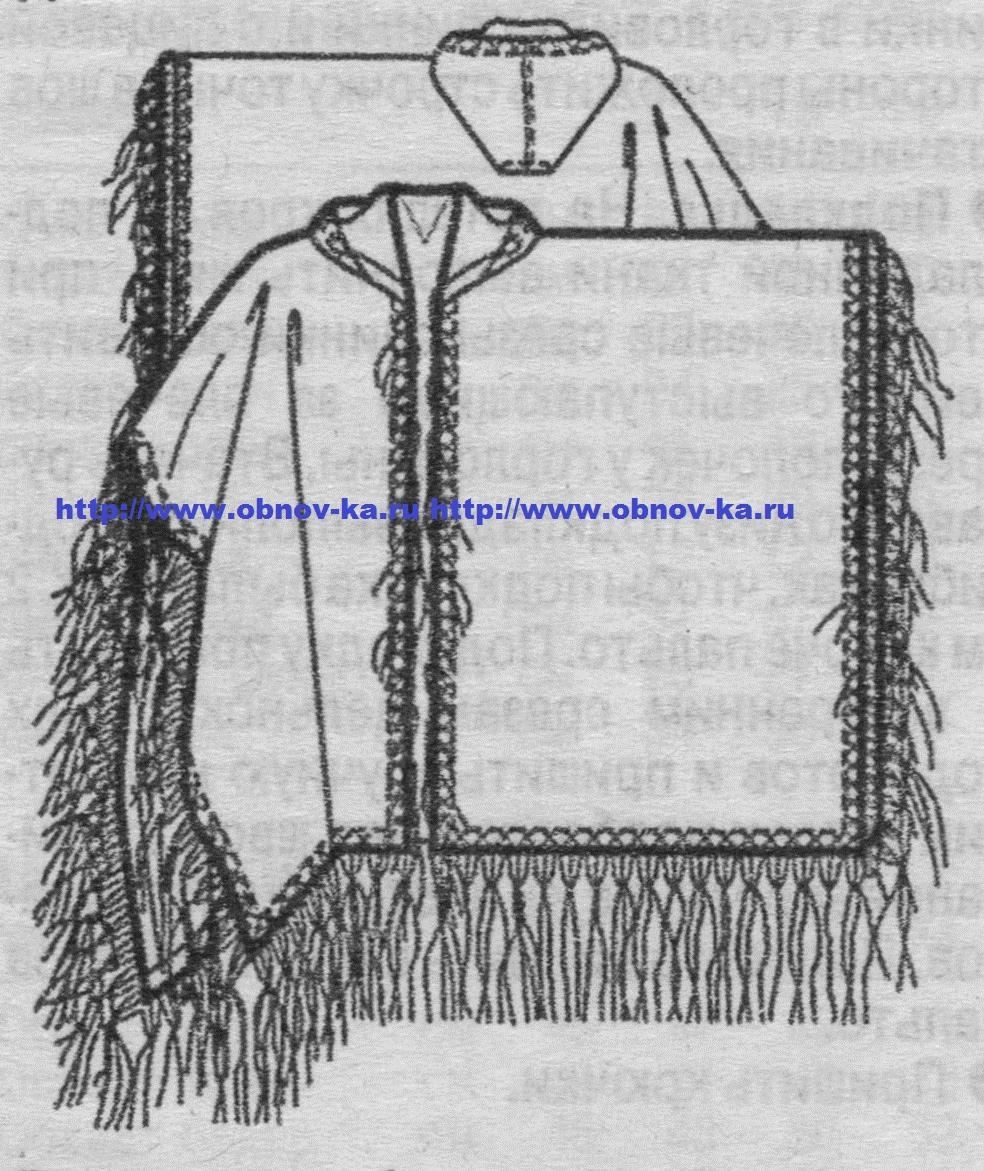 Пальто пончо: выбираем фасон и учимся шить своими руками 69