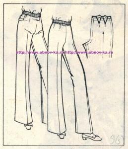 Примерка брюк 3
