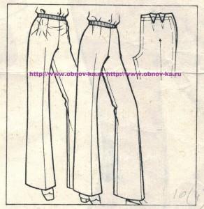 Примерка брюк 4