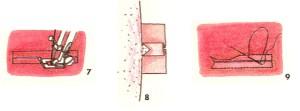 Обтачные петли (7-9)