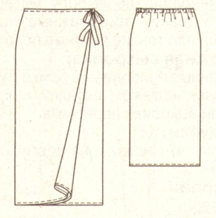 Выкройки юбок для храмов