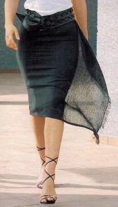 Фото прямая юбка своими руками