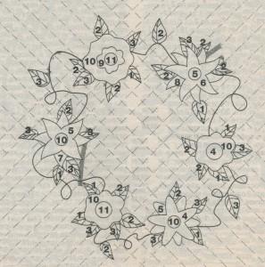 Декоративная подушка  схема