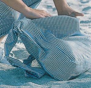 Пляжная сумка двусторонняя 2