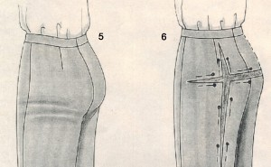 Коррекция брюк 5-6