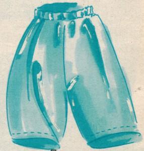 Подкладка юбки брюк 2