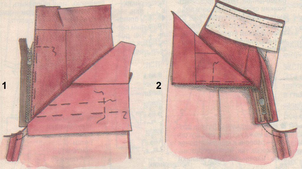 пояс брюк 1-2
