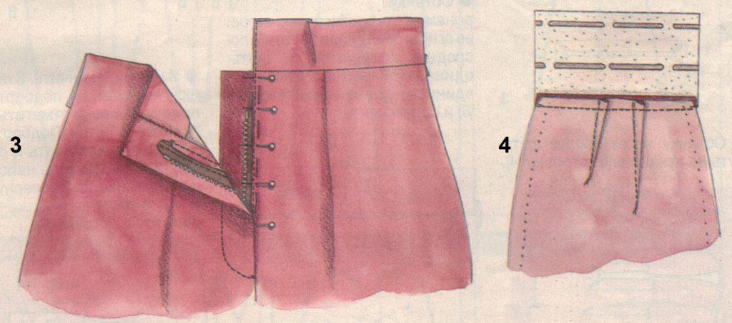 пояс брюк 3-4