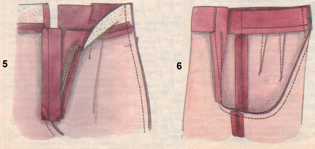 пояс брюк 5-6