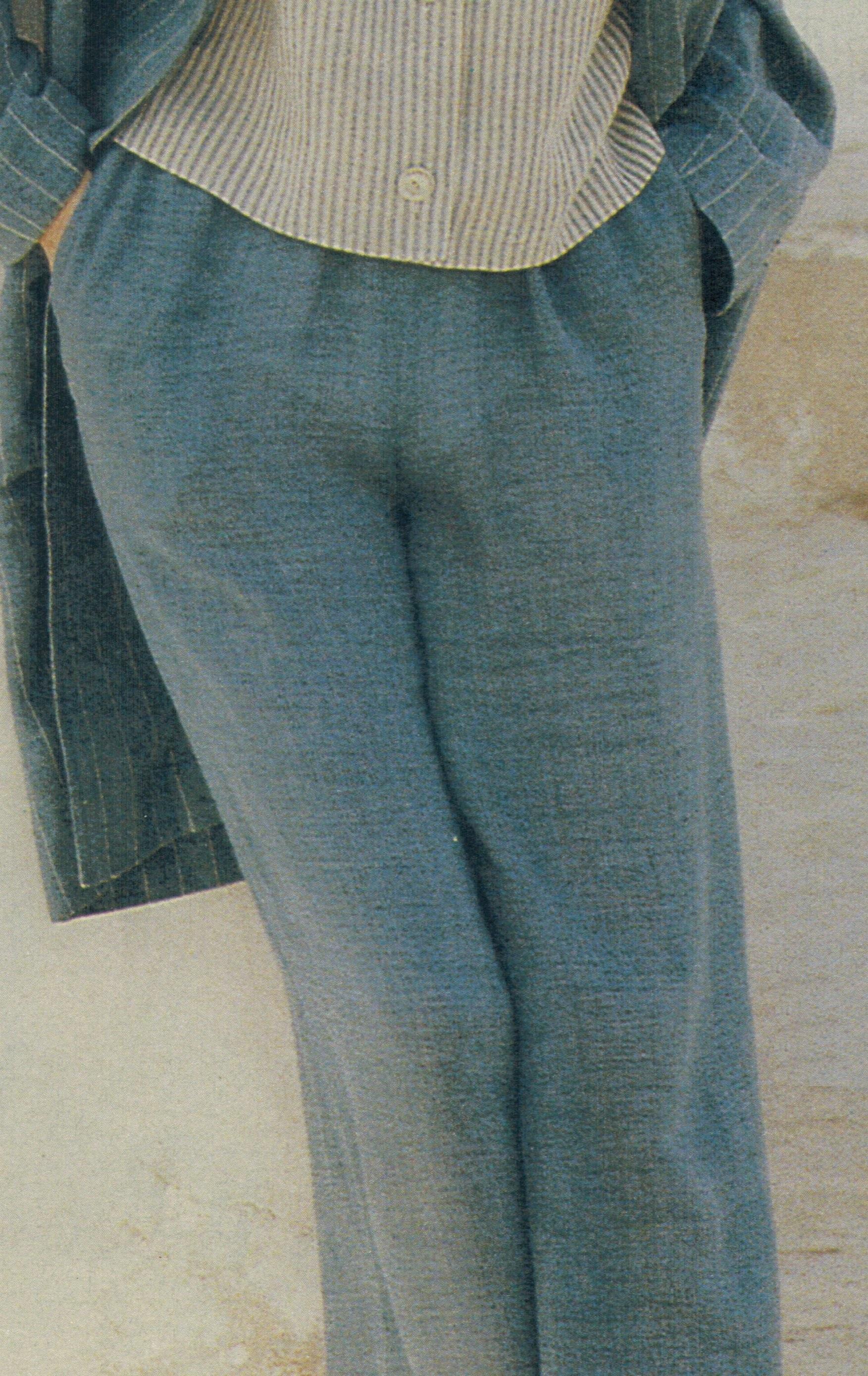 Как быстро сшить летние брюки фото 865