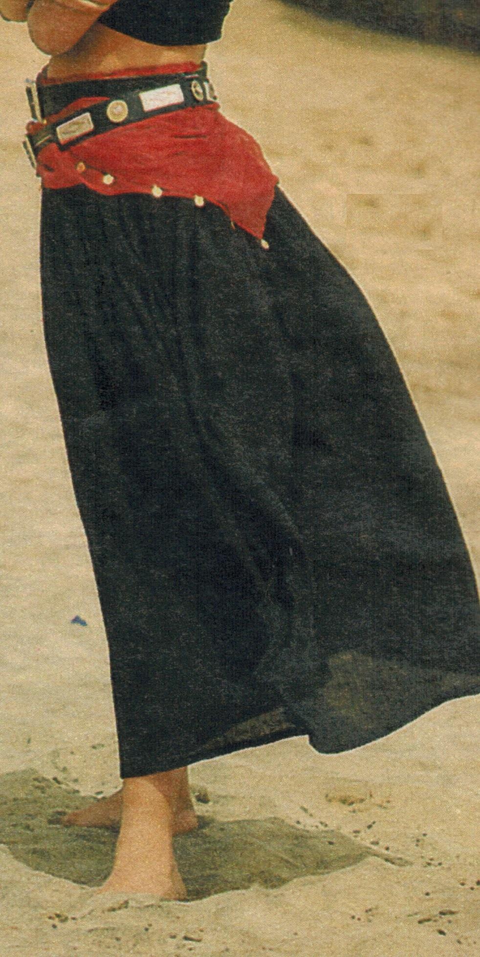 Длинная юбка своими руками
