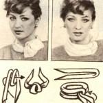 Как завязать платок вар.3