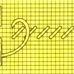 Основное правило вышивки крестом