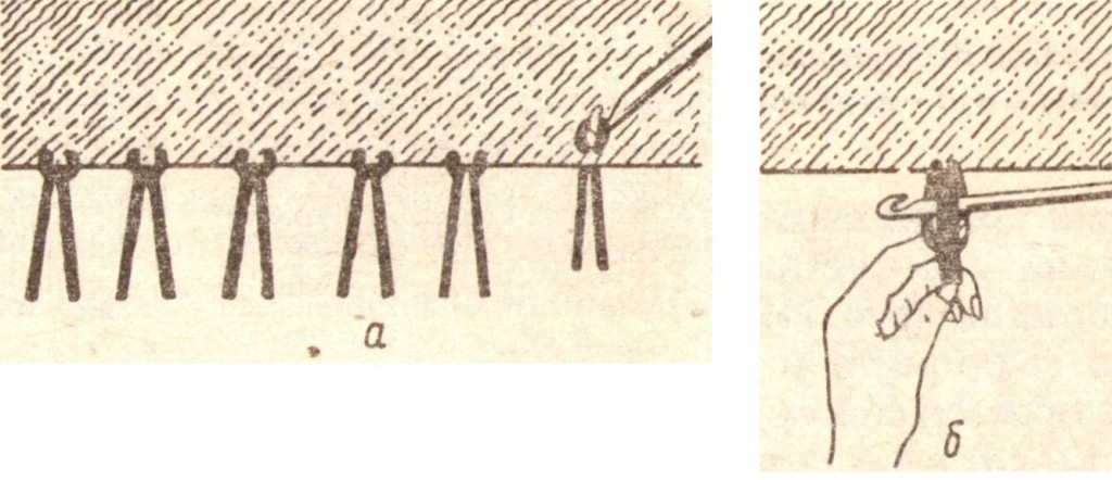 Бахрома вязальным крючком