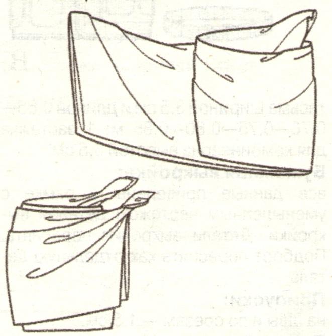 Парео мини юбка эскиз 3