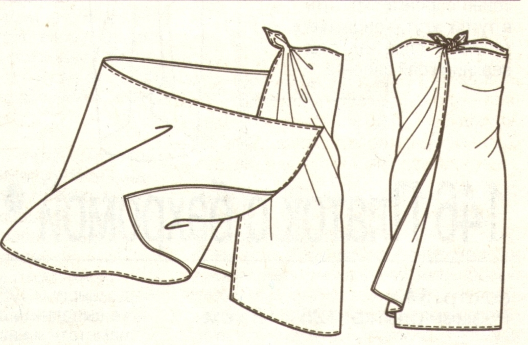 Саронг эскиз
