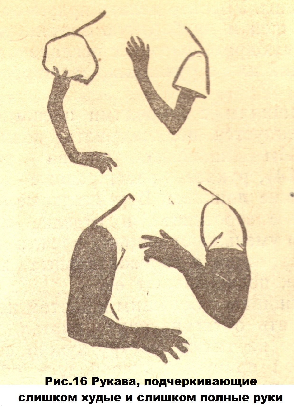 Худые и полные руки (16)