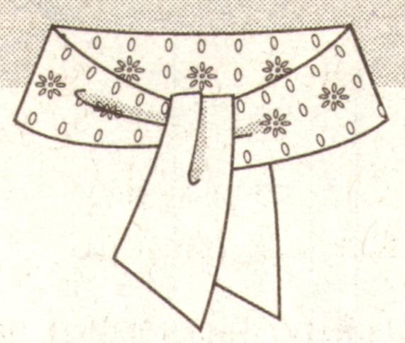 Кожаный пояс эскиз