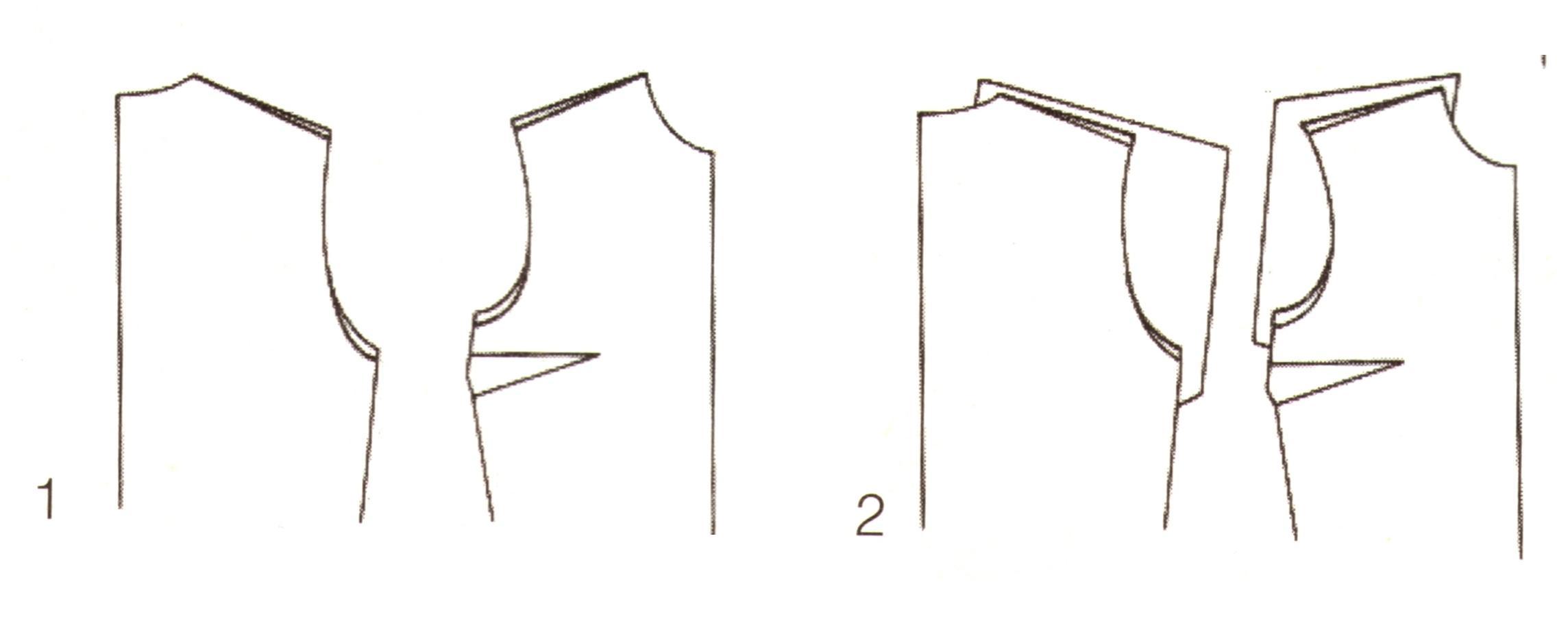 Корректировка выкройки (1-2)