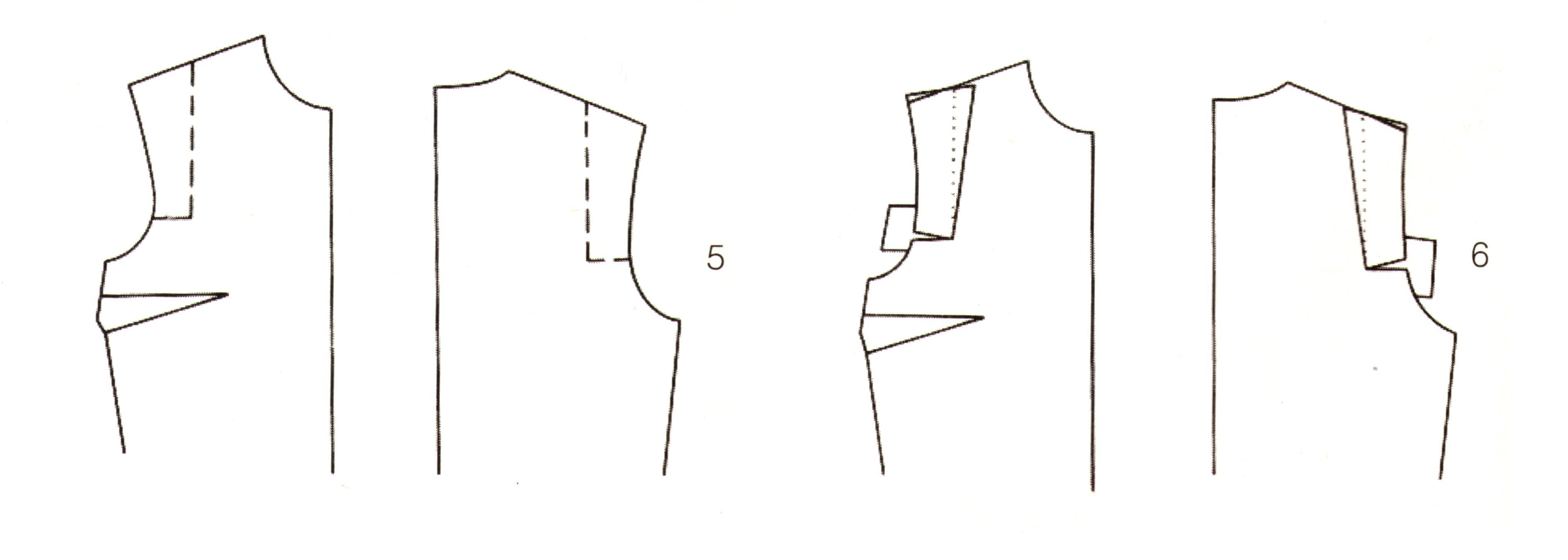 Корректировка выкройки (5-6)